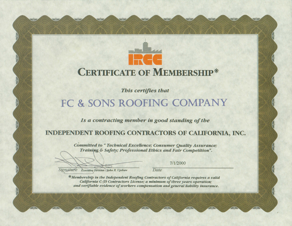 ... FC And Sons Roofing | Commercial And Industrial Roofing Contractor In  California | Commercial And Industrial ...